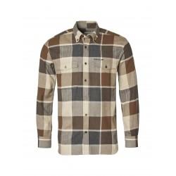 Chevalier Wolf skjorte Brown Checked