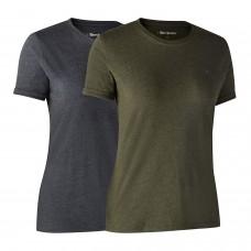 Deerhunter Ladies Basis 2-pak T-shirt