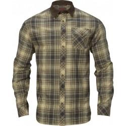 Härkila Driven hunt flannel skjorte light teak