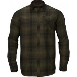 Härkila Driven hunt flannel skjorte Olive green