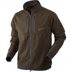 Härkila Lynx Vendbar fleece jakke