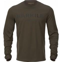 Härkila Mountain Hunter L/S t-shirt grøn/brun
