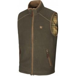 Härkila Sandhem fleece vest willow green melange