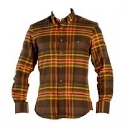 Haunter Fain skjorte brun