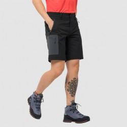 Jack Wolfskin Active track shorts Sort