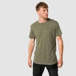 Jack Wolfskin Essential T-shirt Khaki