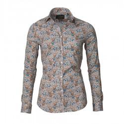 Laksen Birds & Blossoms sand trøje