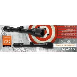 Scandium C22 3-9X40 AO M/montage