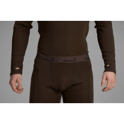 Seeland Climate Base layer Clay Brown - Merino uld