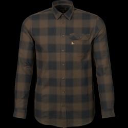 Seeland Highseat skjorte Hunter Brown