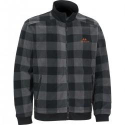 Swedteam Lynx M Sweater Full-zip Dark Grey