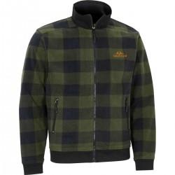 Swedteam Lynx M Sweater Full-zip Hunting green